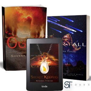 Shanna Terese Books, my books, Christian science fiction book author
